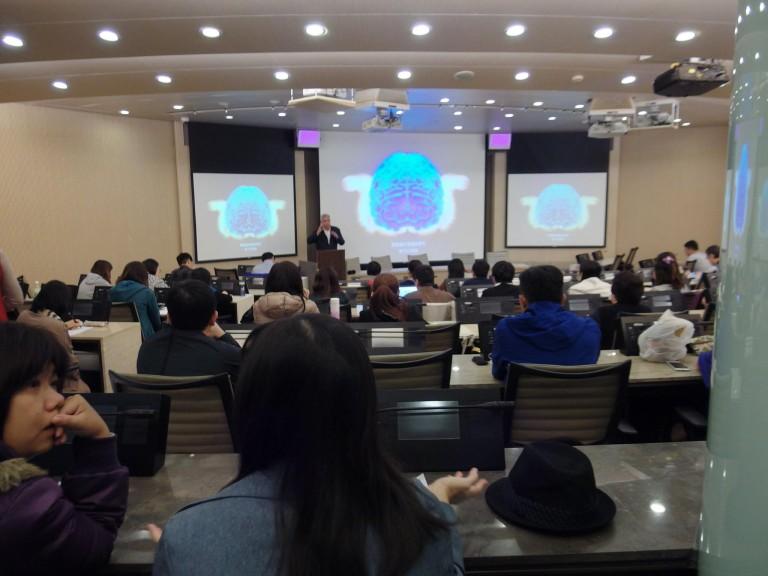 2016/11/26文化大學「華岡大師講座」