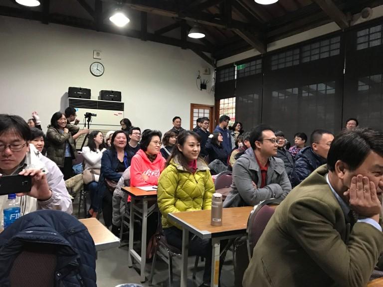 2017/01/14台北市長官邸演講與臨床示範